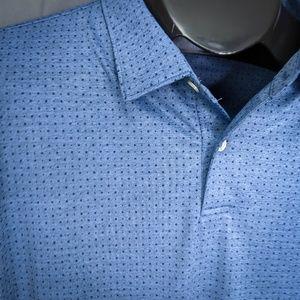 Peter Millar Shirts - Peter Millar Mens Polo Shirt XXL Blue Brian Scott